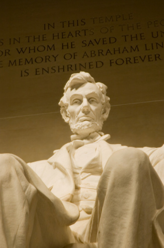 Statue of Abraham Lincoln, Washington D.C (Getty Images)