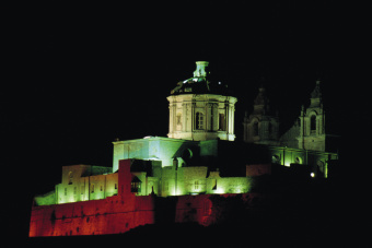 Maltese castle (Copyright: Getty Images)