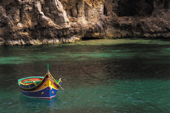 Maltese fishing boat (Copyright: Getty Images)